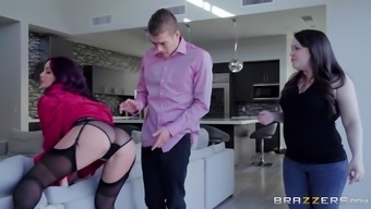 Monique Alexander is capable f fucking her best friend's hubby on her bed