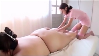 Japanese people BBW's Horny Massage therapy
