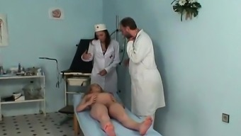 Gets pregnant milf fucked by gynaecologist- More On HDMilfCam com