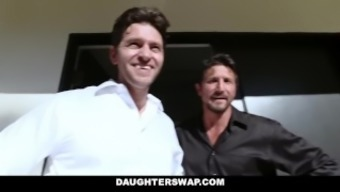 DaughterSwap - Girl siblings Deceived For a Deal with By Their Moms and dads
