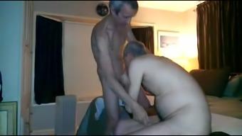 Joyful old males intercourse online video media