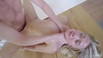 lie back blowjob and unrelenting butt sexual intercourse with the use of brown pawg aj applegate