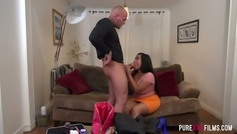 Extended haired sexy Miss Pinay allow inked punk fuck her fleshy crimson