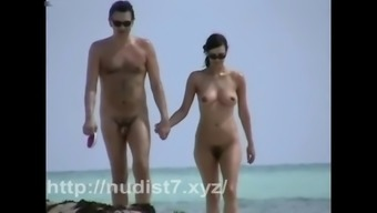 Nudist nasty person voyeur vid by using heated young adults