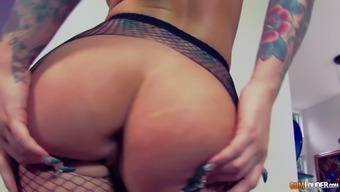 Large bootied blond Christy Mack is typically a intimate sexual fanatic and she loves to get naked
