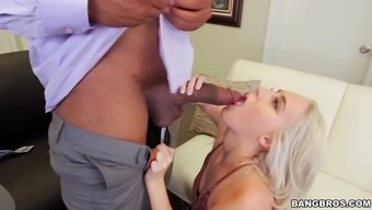 cadence lux put on the knees and swallowed which typically salacious african american male fuck pole