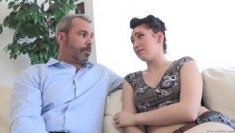 aria alexander massage techniques and deepthroats her stepdad's lift
