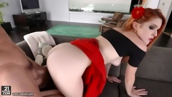 blond spanish hen amarna miller gets her furry pussy crushed challenging