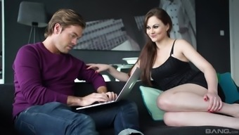 Amber Nevada cannot resist a handsome man's pulsating penile