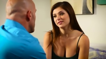 Cute Leah Gotti is a tanned gangling cowgirl who thirsts for regular love-making
