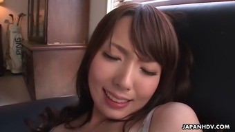 yui hatano gets fingered to maximum and then blows that in fact fuzzy dick
