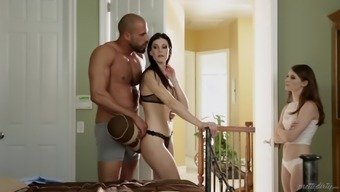 India Summer and Alice Advance seduced for the amazing threesome