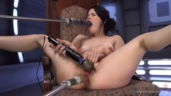 expansion of one's fucking machinery: yhivi gets fucked hard
