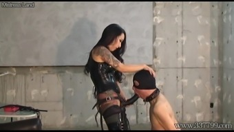 CBT Boots and Cock Hitting Domina