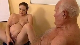 Grand father fucks gets pregnant krown