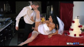 Bride receives a Bad fats Incline