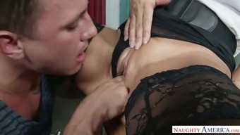 Warm tutor Lezley Zen requests her pupil to conquer her stormy pussy