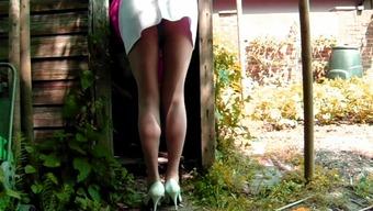 Minimal Mini skirts And Fiber Panties