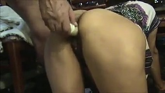 Soiled More senior Mother's brother Fucks & Licks Hirsuite Indian Lady's Booty