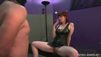 Girlfriend femdom assortment strapon whipping and more