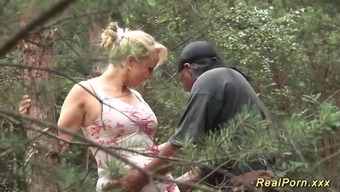 Horny german big naturally-occuring bust MILF treasures most desirable cock sex by nature