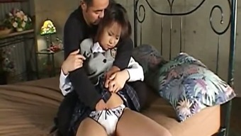 Haruka Aida Warm Japanese schoolgirl part3