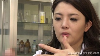 Moving Japanese people doctor immediately lies deeply in love with the erected penile organ