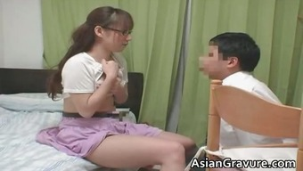Attractive far eastern with great breasts residence instructor part1