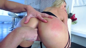 Serious anus POV scenes with the use of amazing AJ Applegate