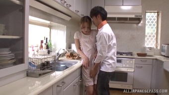 Japanese people partner Ayaka Fujikita enjoys major sex in your own home