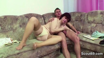 Mothers Hook Action Youngster to actually Fuck her Fuzzy Pussy complicated