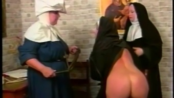 Nasty nun gets her butt spanked in a parody intercourse video files