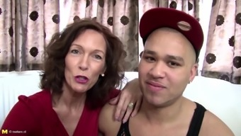 Real grow older mother fucked by young not her youngster