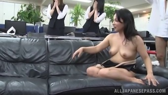 Nasty Asian MILF treasures entertaining cracks and also cocks