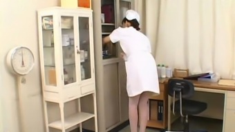 Highly regarded and Sexy Oriental Look after - kissing nurse