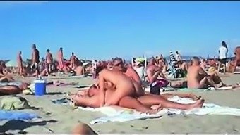 cuckolding within a topless seaside gets posted