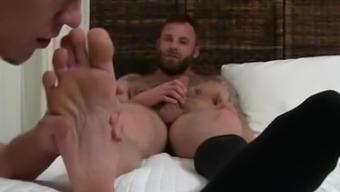 Frat bareback severe cheerful males sexual intercourse experiences