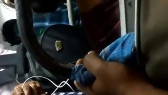 Vulptuous tamil love bus piece 1