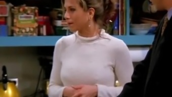 Jennifer Aniston Nipples Tell from Buddies