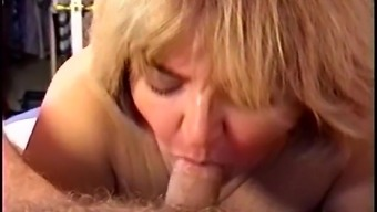 Novice MILF Wifey Sucking a Angle & Swallowing Sperm