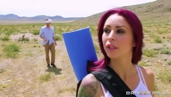 Monique Alexander teases a man back with her fascinating number