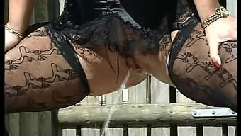 major error Tiziana Redford watersports in lingerie
