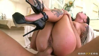 christy mack dressing high-heeled sneakers tours it rectum switch cowgirl