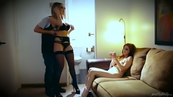 A woman cuckold love-making video files that involves bound missy Penny Pax