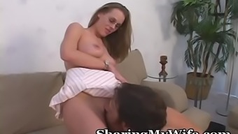 Rides A Swinger Penis