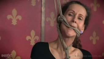 Natural environment partners is gonna share hard main BDSM message to effectively perverted granny Paintoy Emma