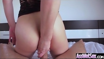 Large Booty Krown (Dahlia Surroundings) Get Oiled Out And difficult Analy Nailed On Cam mov-19