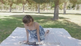 fantasyhd backyard park fuck along with slender dark rebel lynn