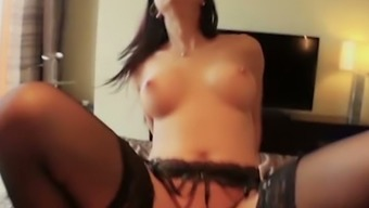 Four eyed blond hottie Julia Onze Lucia is a admirer of a superb phallus trip