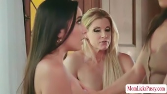 Intense pussy licking with slutty babes kalina with india